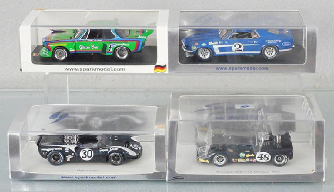4 SPORT MODEL RACER CARS