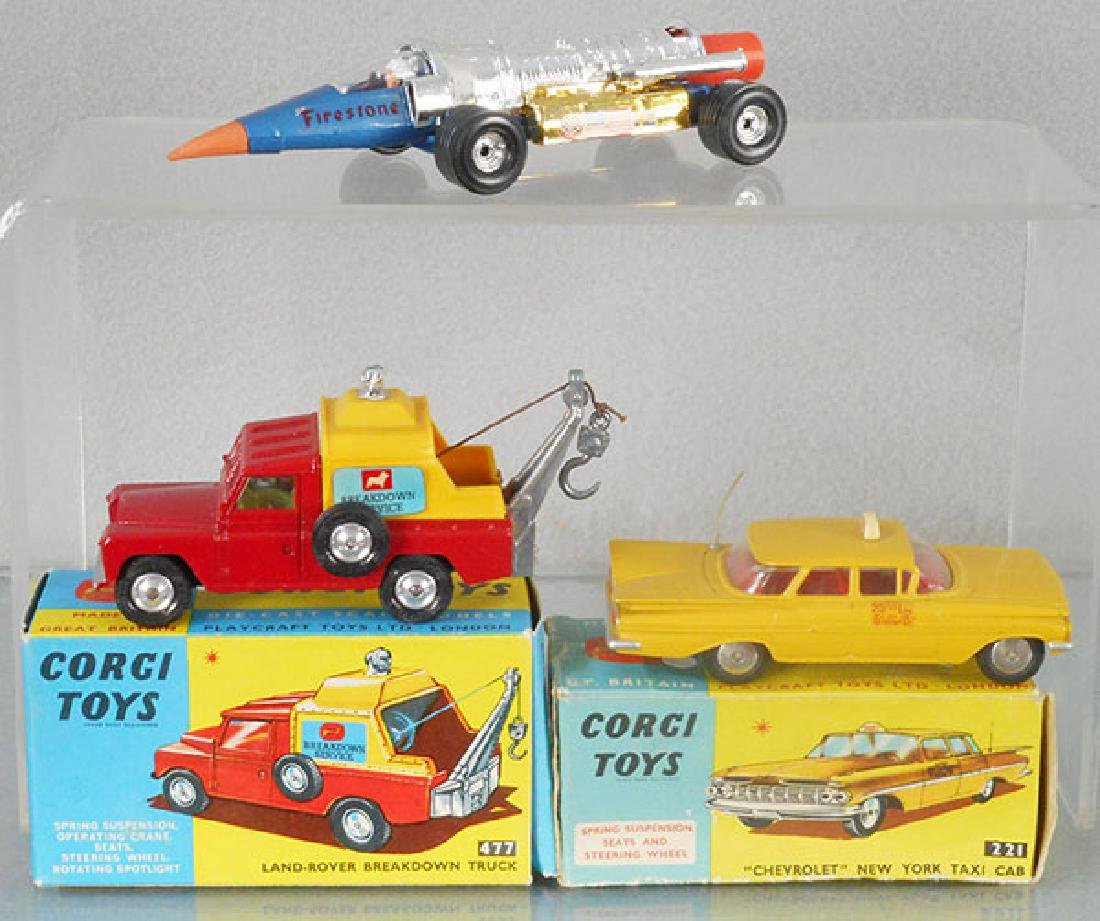 3 CORGI VEHICLES