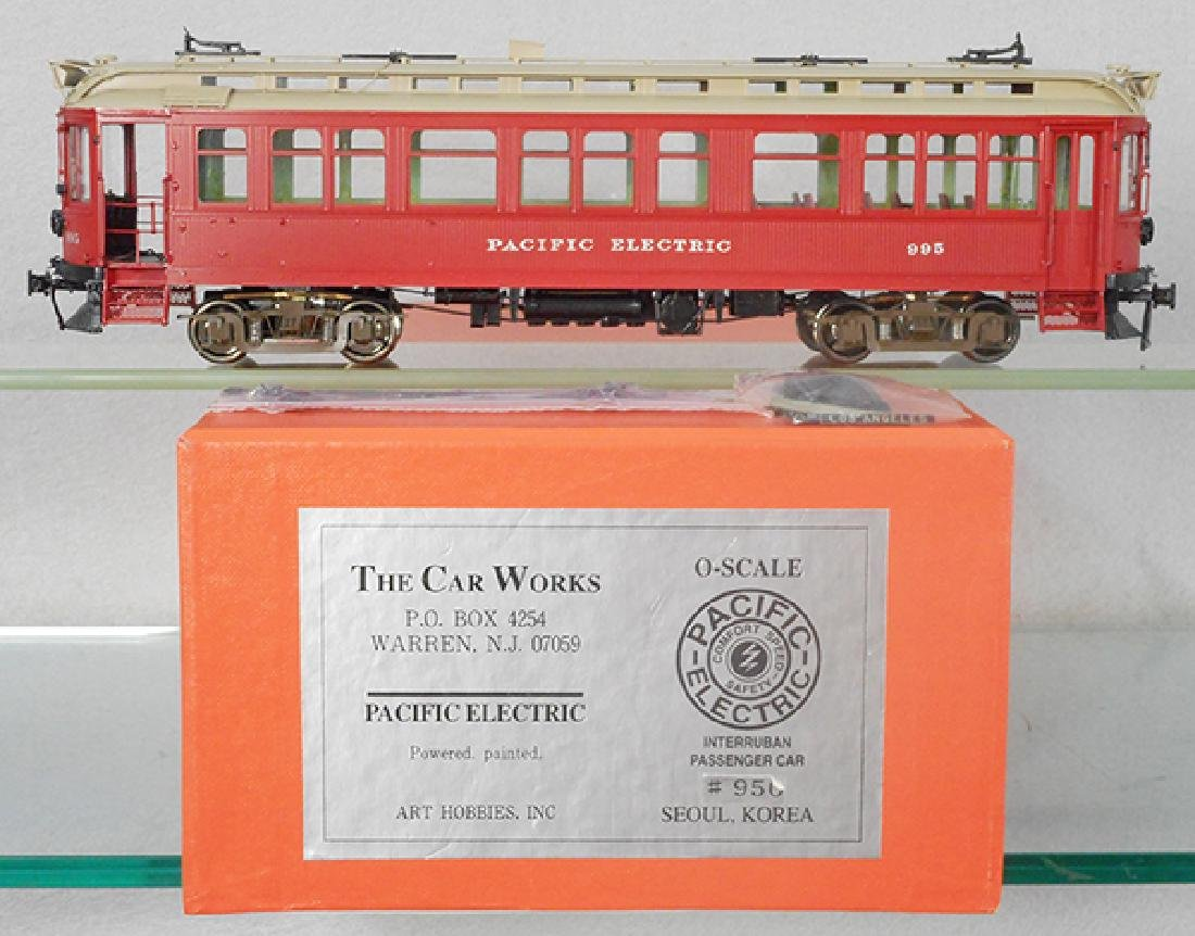ART PACIFIC ELECTRIC TROLLEY