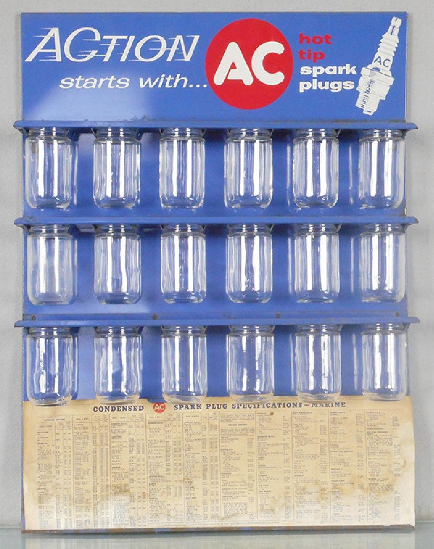 AC MARINE SPARK PLUGS DISPLAY
