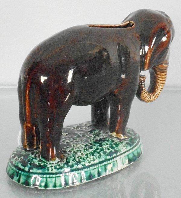 ELEPHANT ON BASE BANK - 2