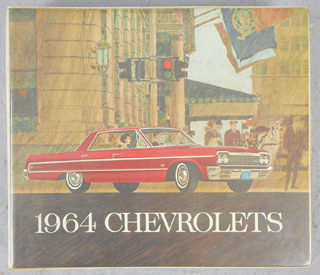 1964 CHEVROLET DEALER BOOK