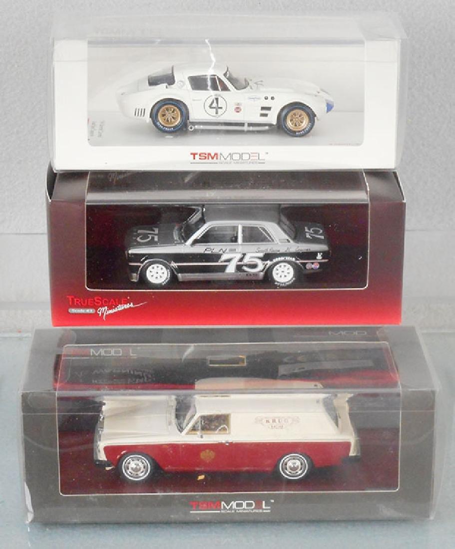 3 TSM MODEL CARS