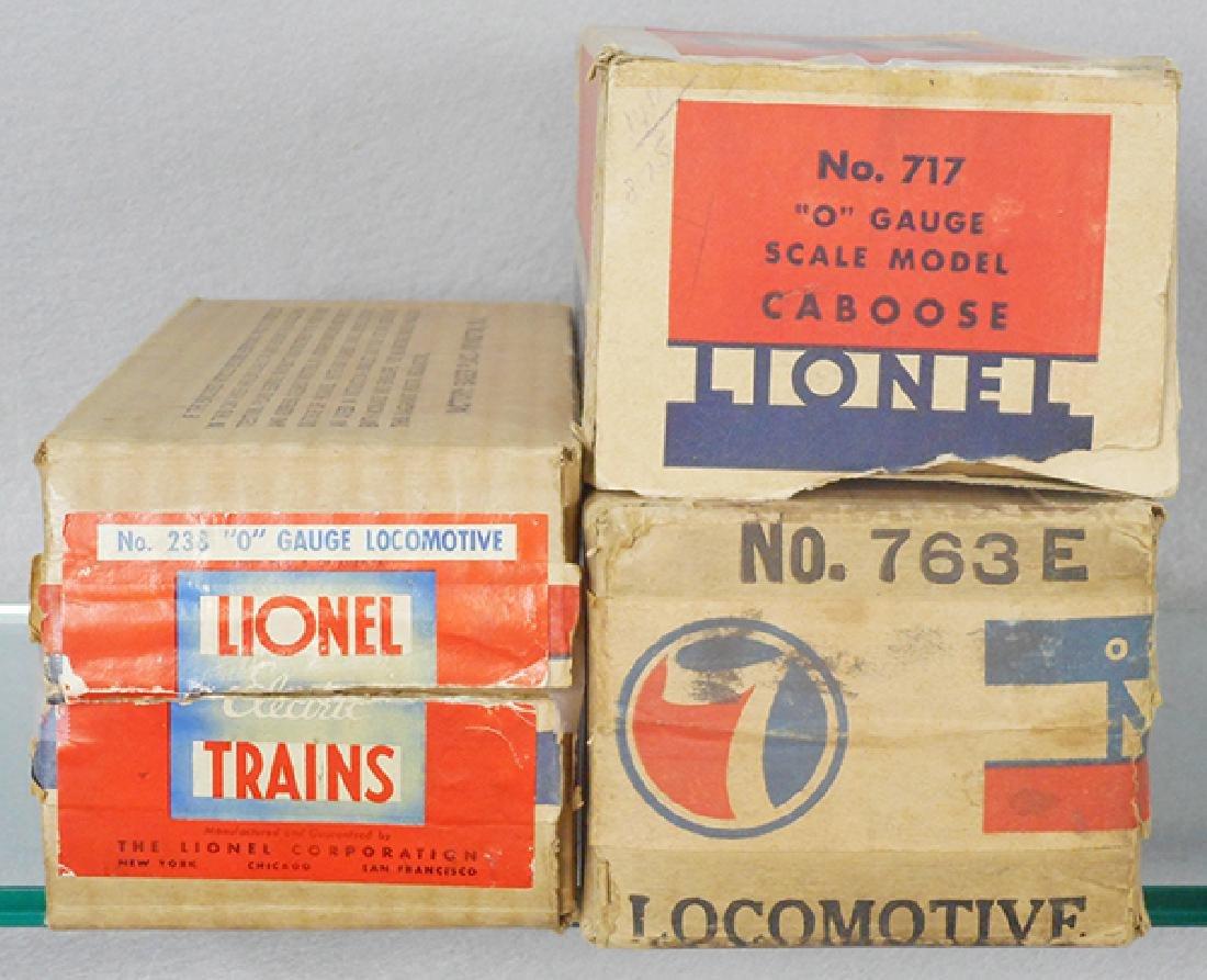 3 LIONEL ORIG BOXES