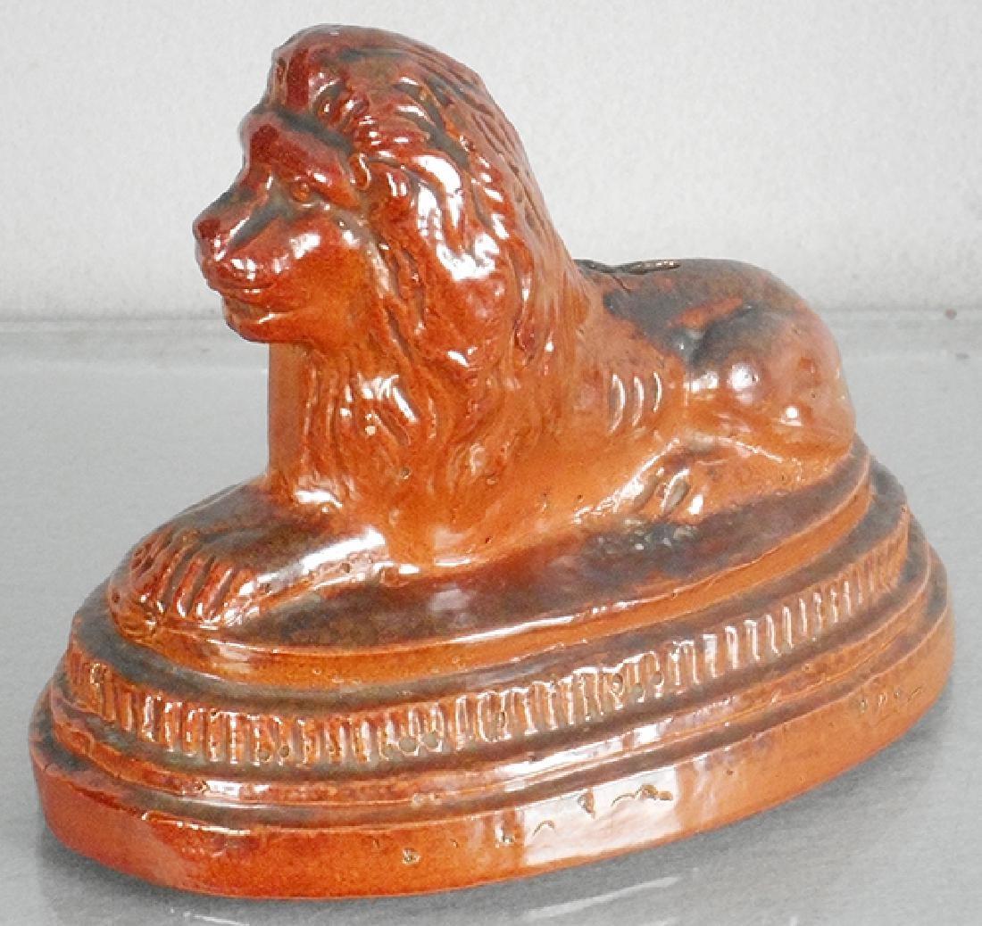 LION ON PEDESTAL BANK