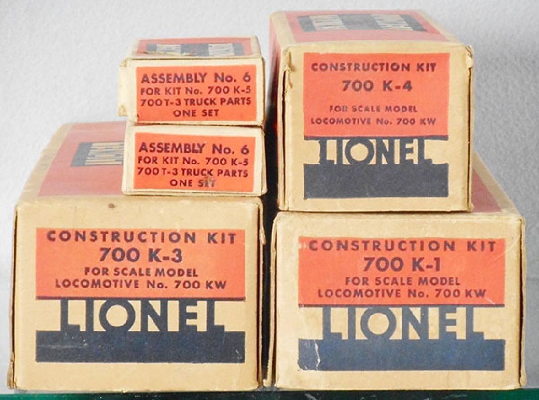 LIONEL 700 HUDSON ORIG BOXES