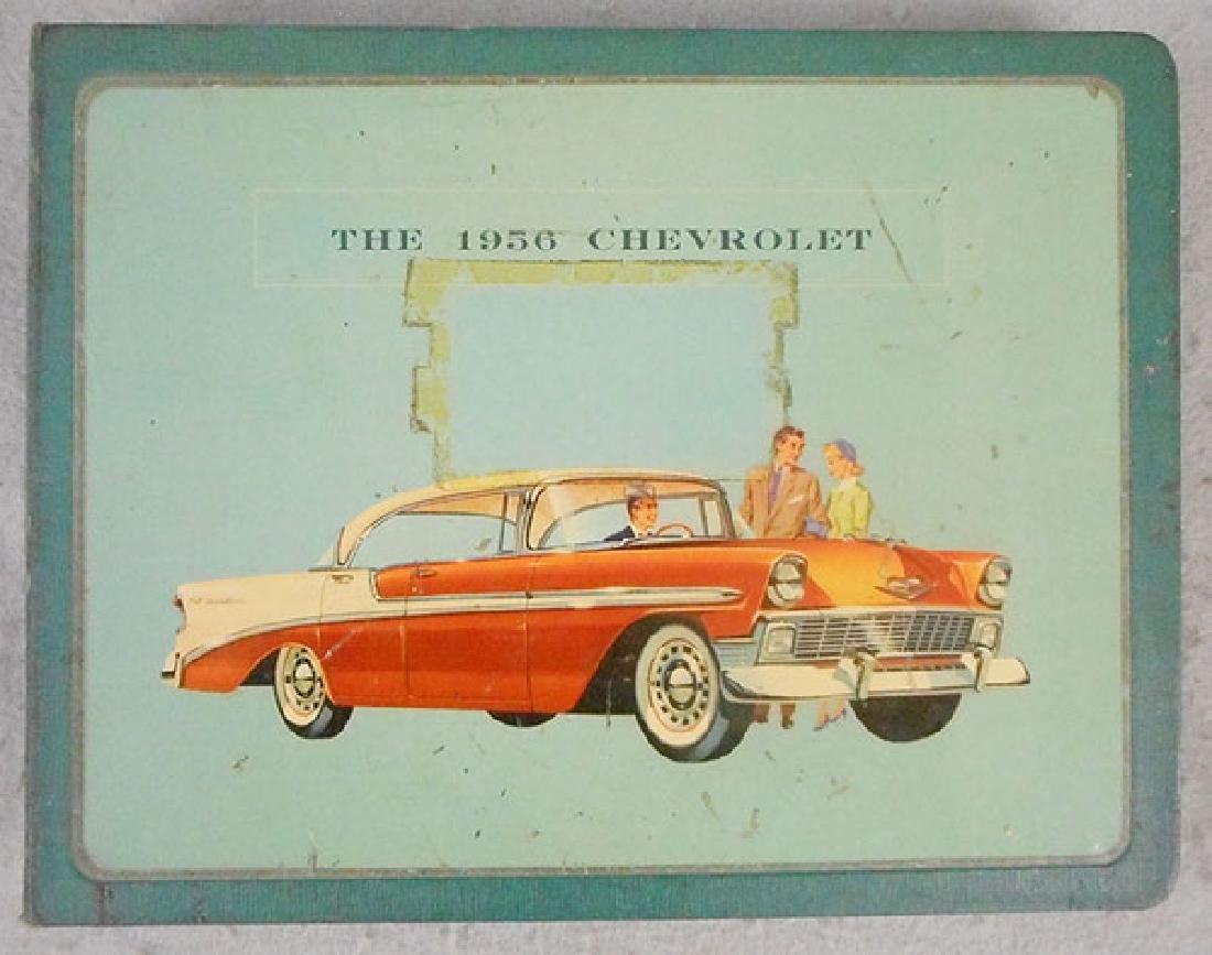 1956 CHEVROLET DEALER BOOK