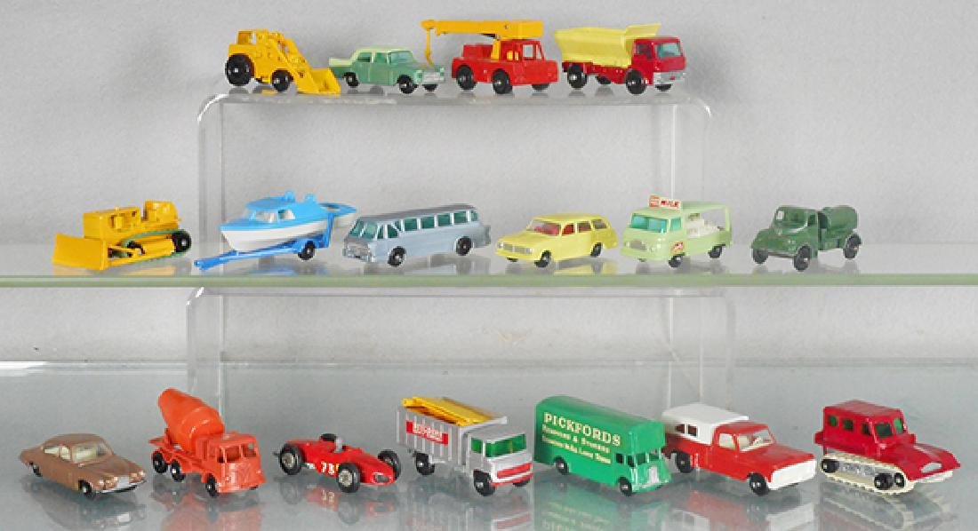 17 MATCHBOX VEHICLES