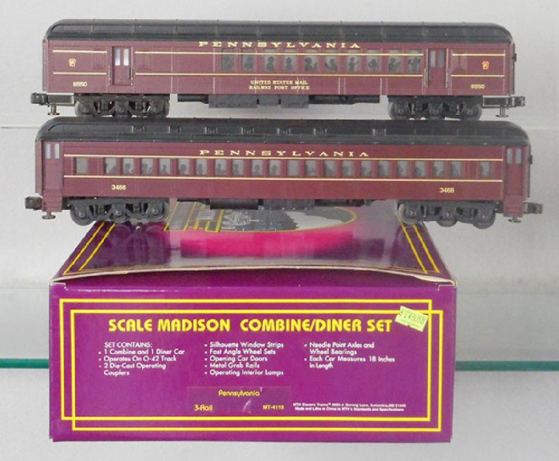 2 MTH PRR PASSENGER CAR SETS - 2