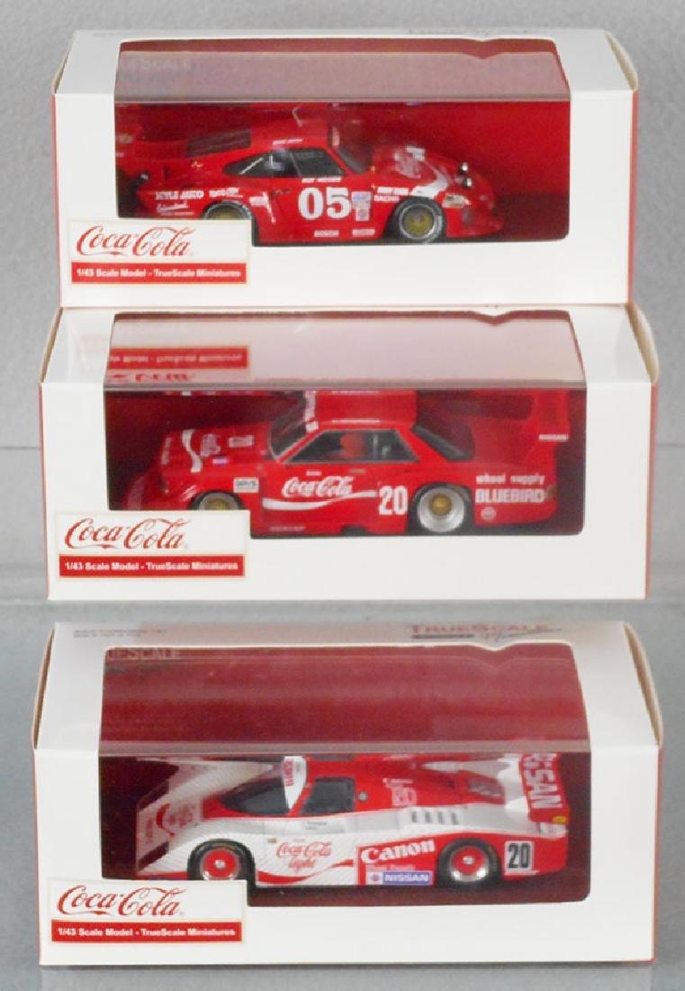 3 TSM COCA COLA RACERS