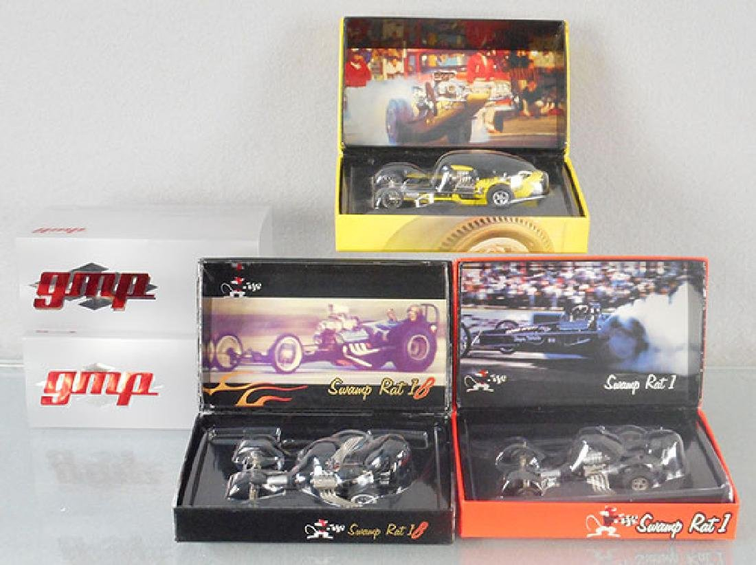 3 GMP DRAGSTERS