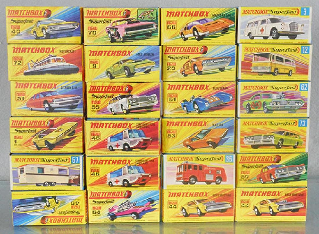 24 MATCHBOX SUPERFASTS
