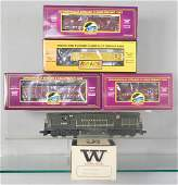 WILLIAMS  MTH PRR TRAIN SET