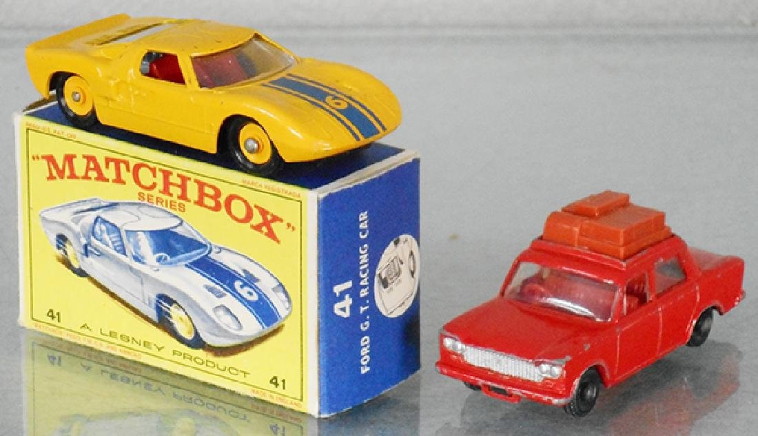 2 MATCHBOX VEHICLES