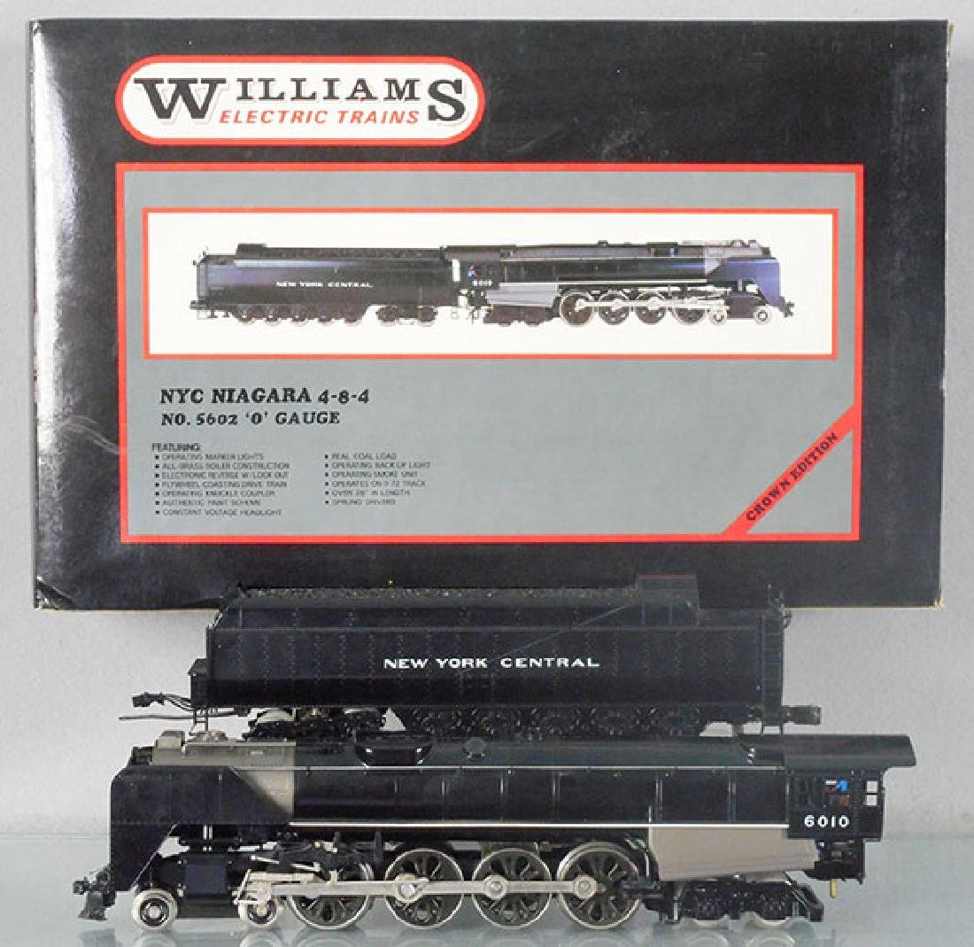 WILLIAMS 5602 NYC NIAGARA LOCO & TENDER