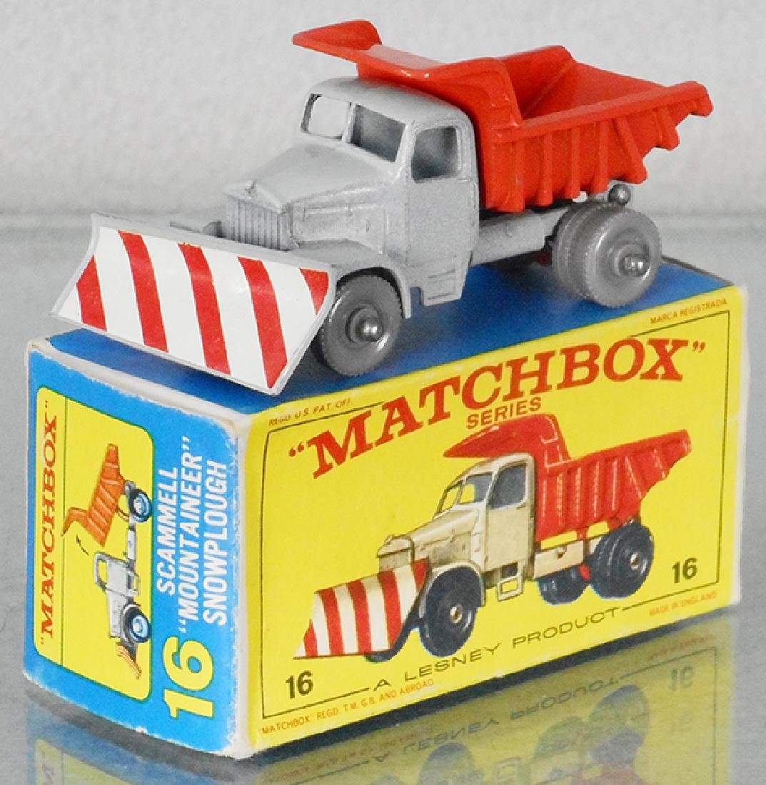 MATCHBOX 16C1 SNOW PLOW