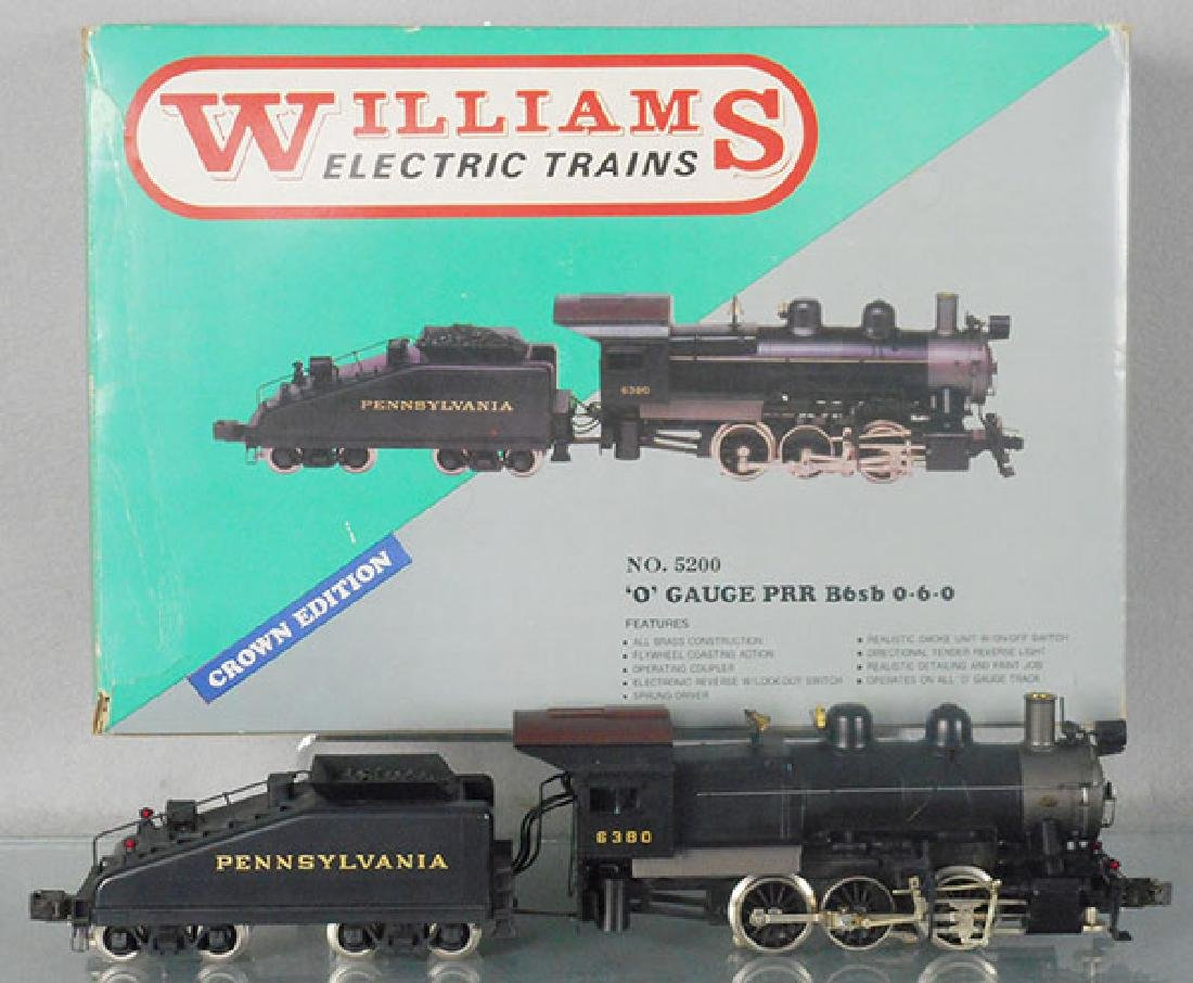 WILLIAMS 5200 PRR LOCO & TENDER