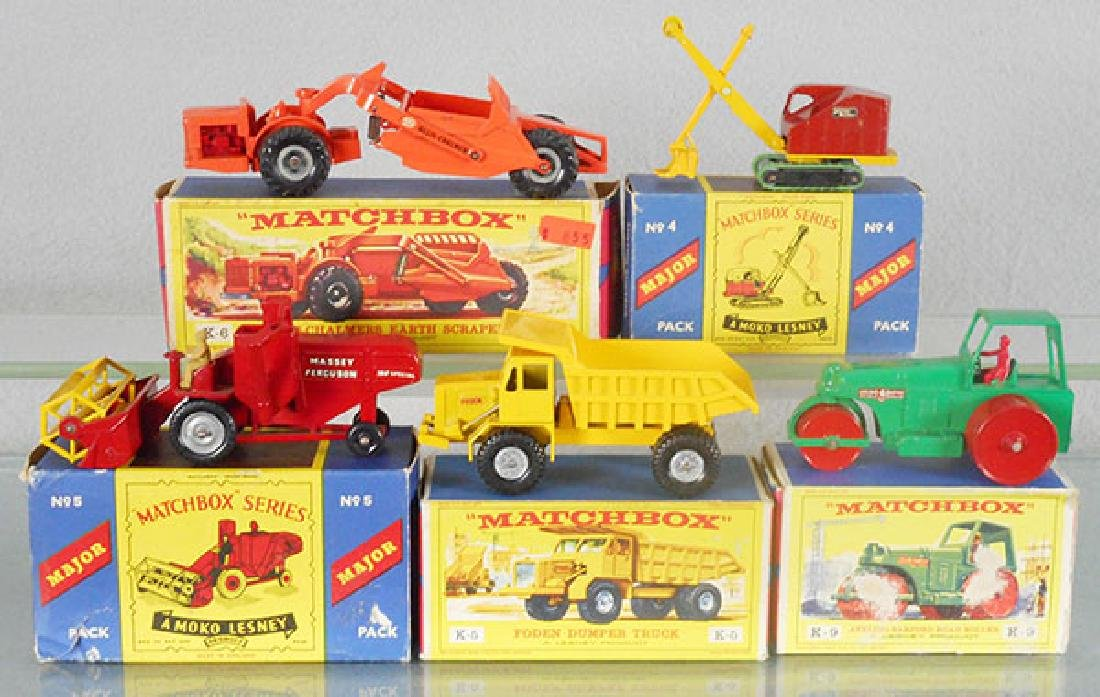 5 MATCHBOX VEHICLES