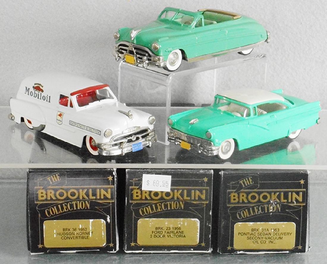 3 BROOKLIN AUTOS