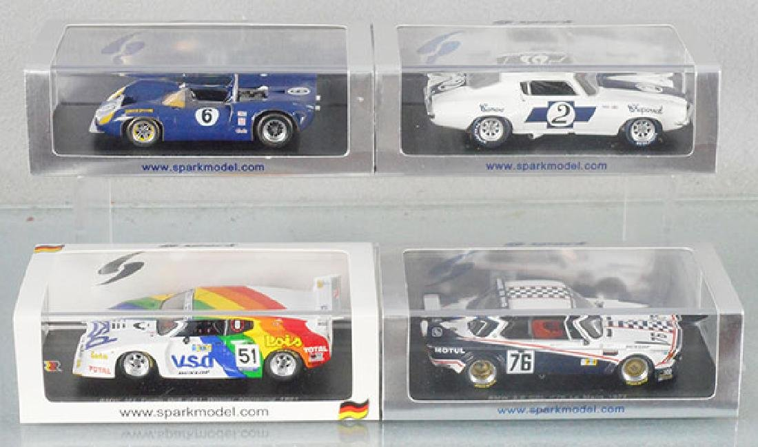 4 SPARK MODEL RACERS