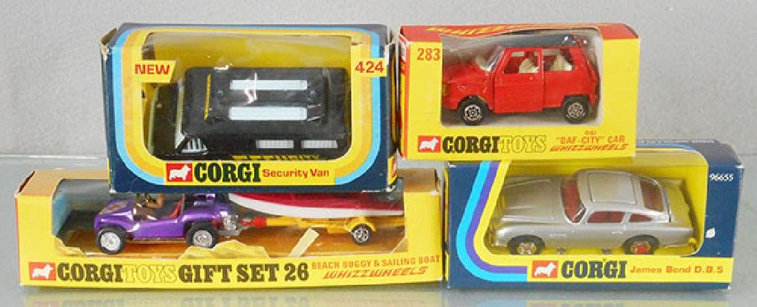 4 CORGI VEHICLES