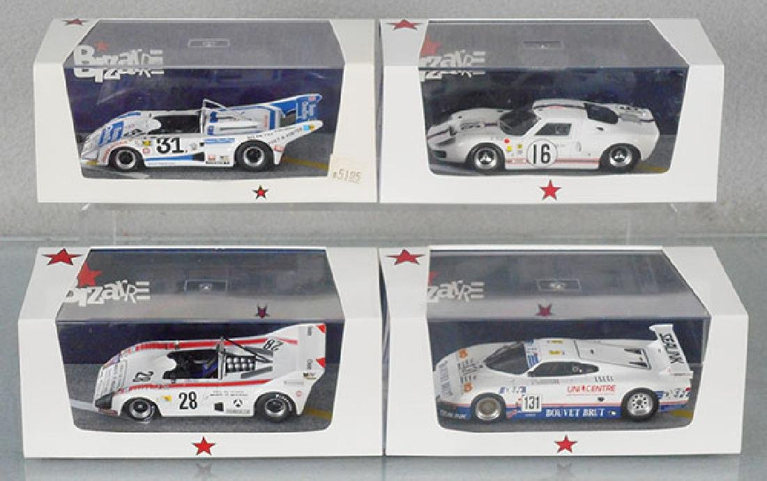 4 BIZARRE MODEL RACERS