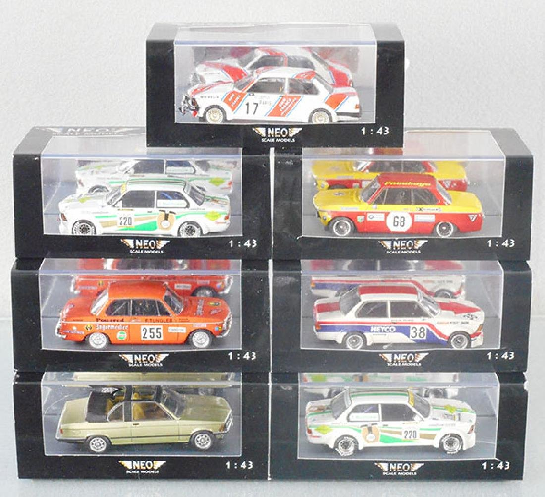 7 NEO SCALE MODEL RACERS