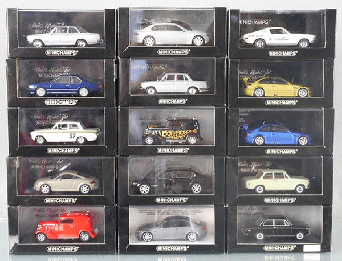 15 MINICHAMP AUTOS