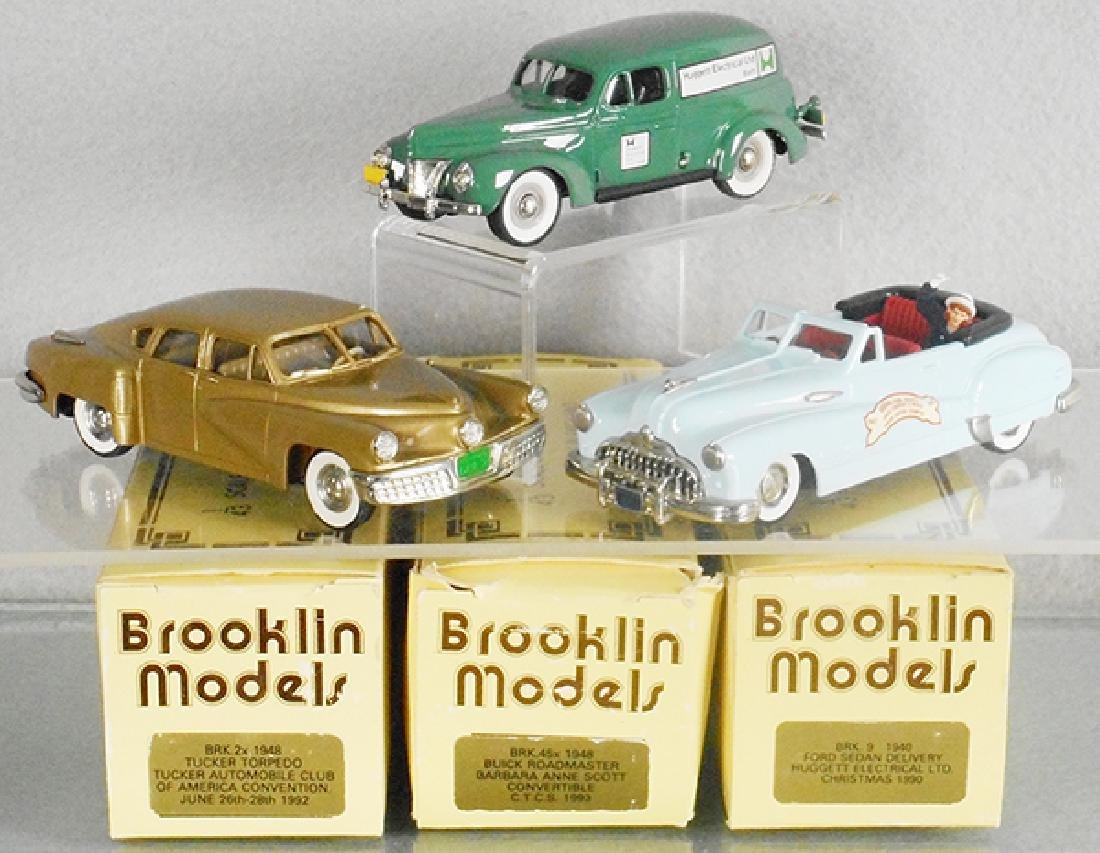 3 BROOKLIN AUTOS