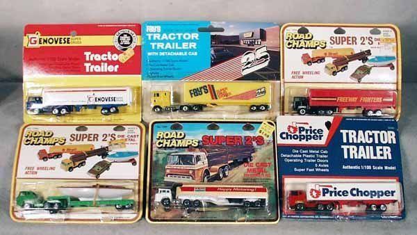 13: 51 YATMING TRACTOR TRAILERS