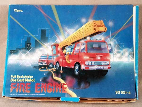 16: 60 CHINESE FIRE EMERGENCY VEHICLES