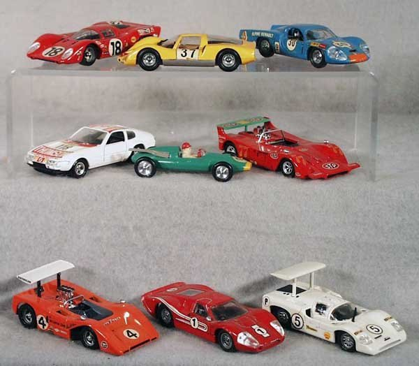 21: 24 SOLIDO RACE CARS