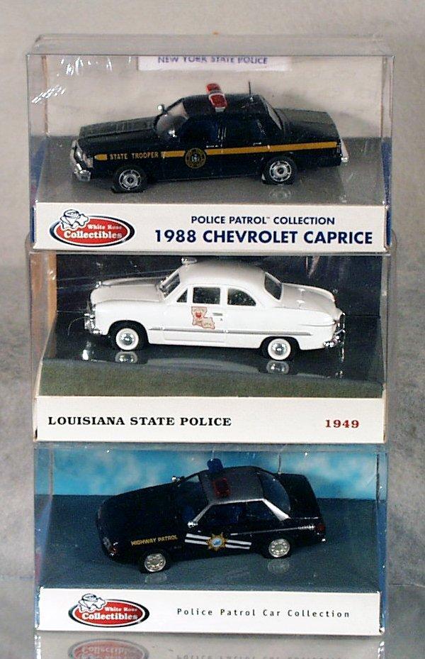 139: 53 WHITE ROSE POLICE CARS