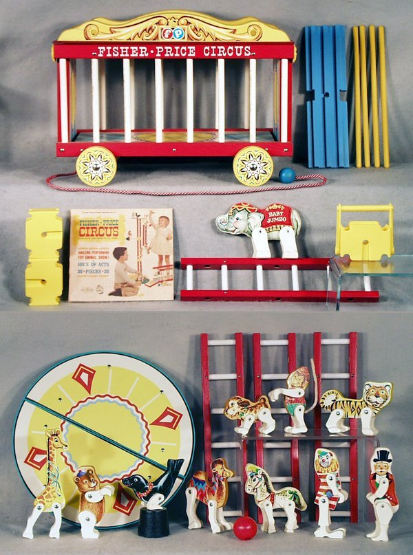 001A: FISHER PRICE 900 CIRCUS