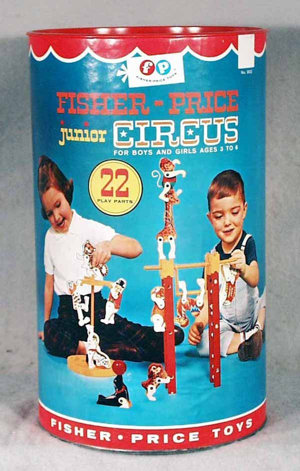 005A: FISHER PRICE 902 JUNIOR CIRCUS