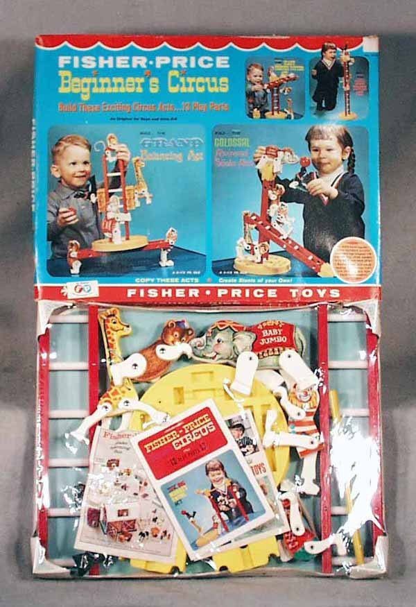 007A: FISHER PRICE 904 BEGINNERS CIRCUS
