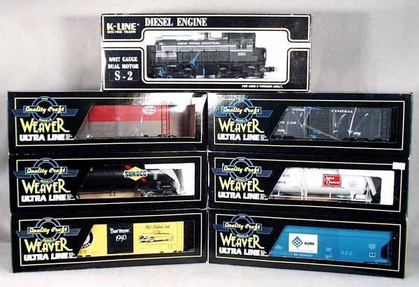 092A: K-LINE WEAVER NYC TRAIN SET