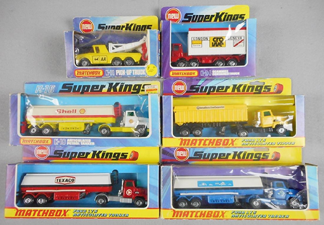 6 MATCHBOX SUPER KINGS