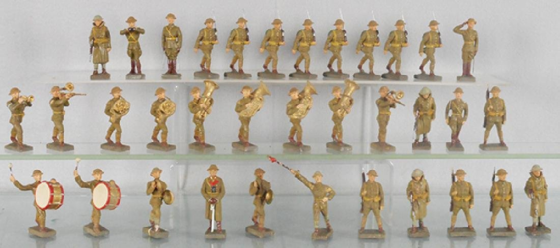 35 LINEOL WWI FIGURES