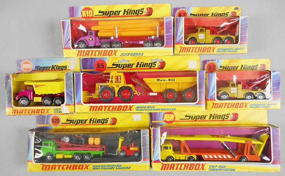 7 MATCHBOX SUPER KINGS