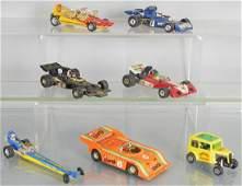 7 CORGI RACERS