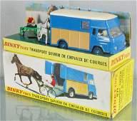 DINKY FR571 SAVIEM HORSE TRANSPORT