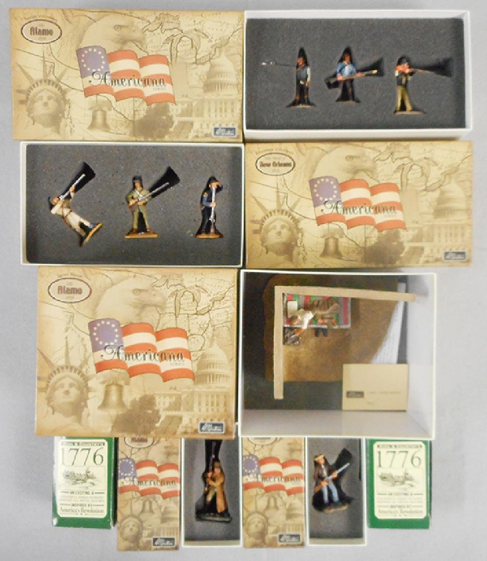 BRITAINS & KING AND COUNTRY ALAMO SETS