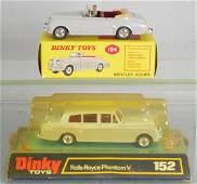 2 DINKY AUTOS
