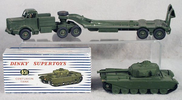 13: 2 DINKY MILITARY VEHICLES