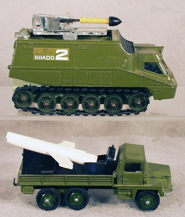 19: 2 DINKY MILITARY VEHICLES