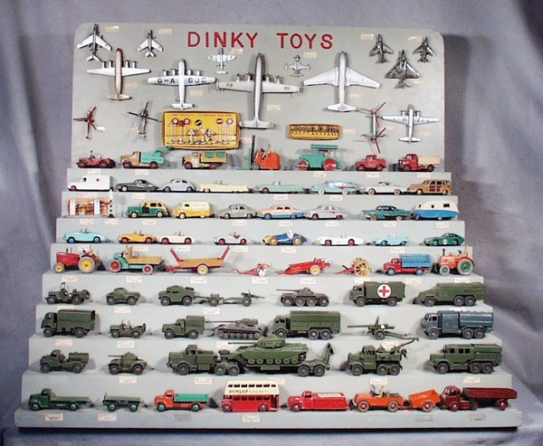 344: DINKY TOYS STORE COUNTER DISPLAY