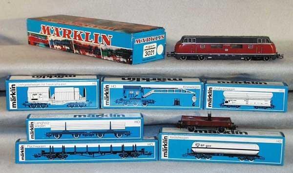 1011: MARKLIN TRAIN SET, HO ga