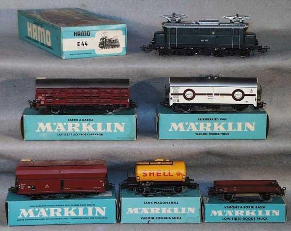 1012: MARKLIN TRAIN SET, HO ga