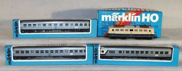1014: MARKLIN TRAIN SET, HO ga